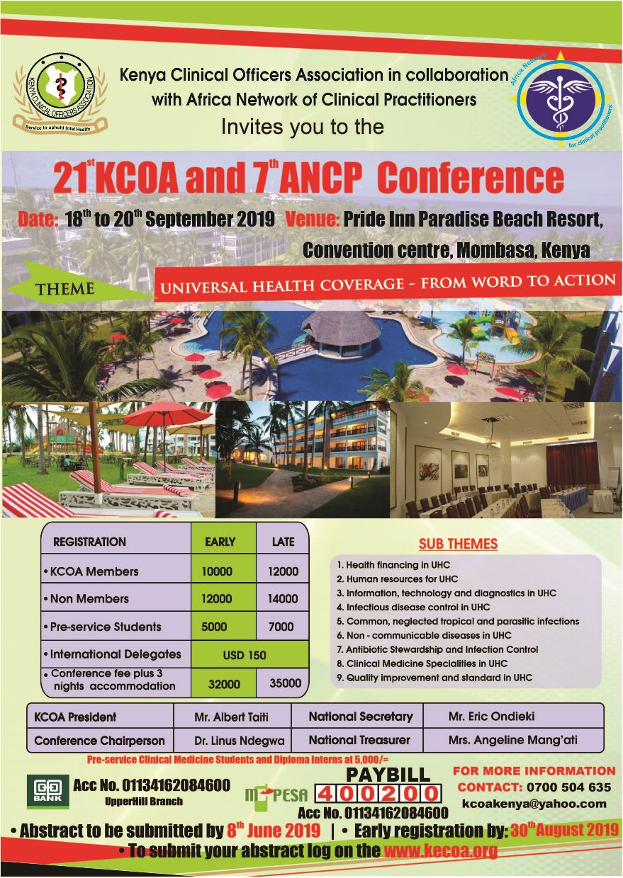 KCOA Conference 2019 Poster